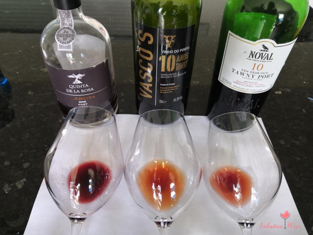 Изменение цвета вина с возрастом