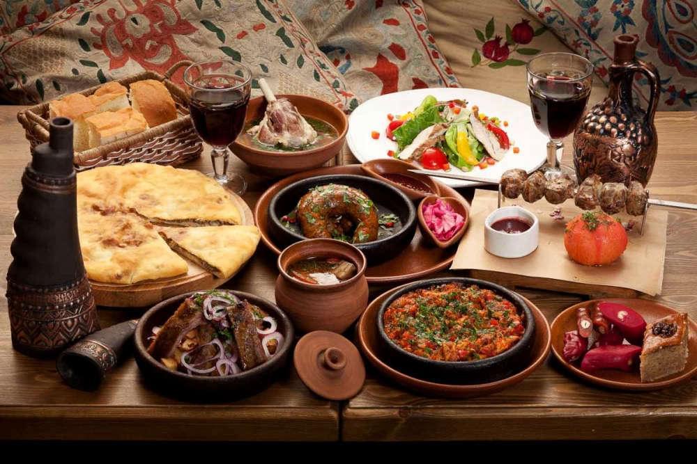 Закуска к Абхазскому вину