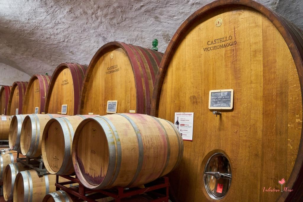 Ботти и баррики Castello Vicchiomaggio