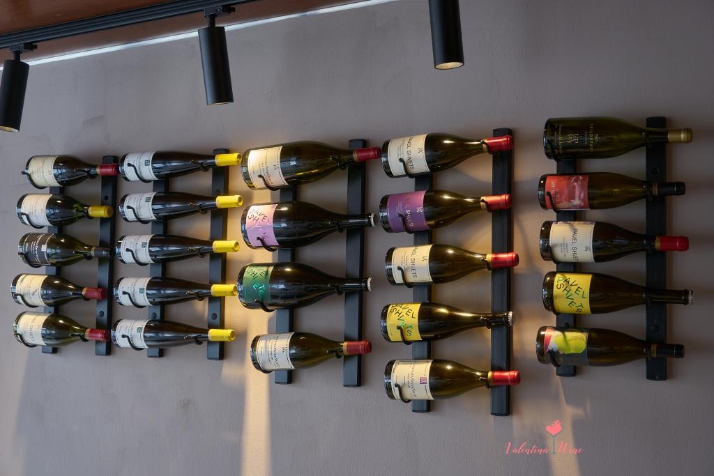 Широкая гамма вин, производимых винодельней