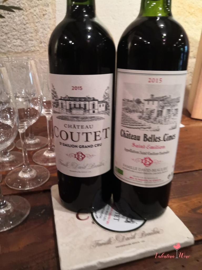 Château Coutet 2015 и Château Belles-Cîmes 2015
