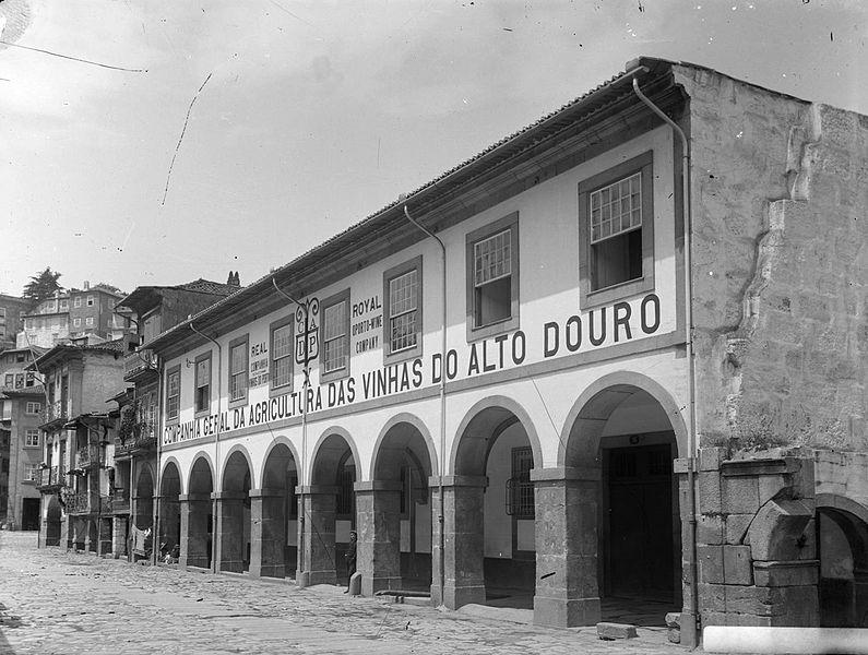 Здание CompanhiaGeral da Agricultura das Vinhas do Alto Douro