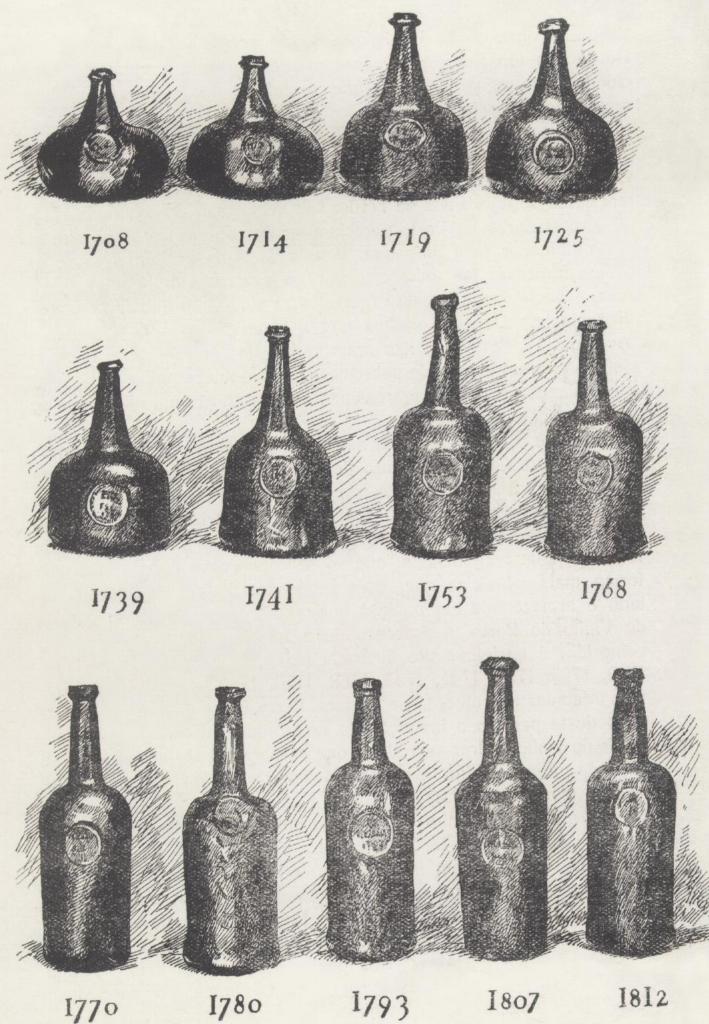 Бутылки портвейна