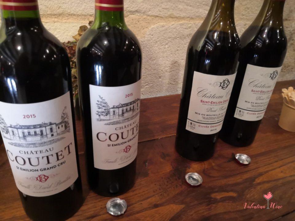 Château Coutet Saint Emilion wines