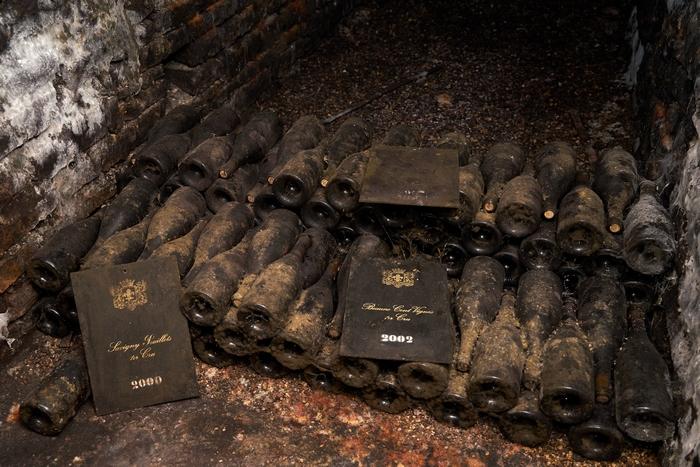 Подземный погреб для вина