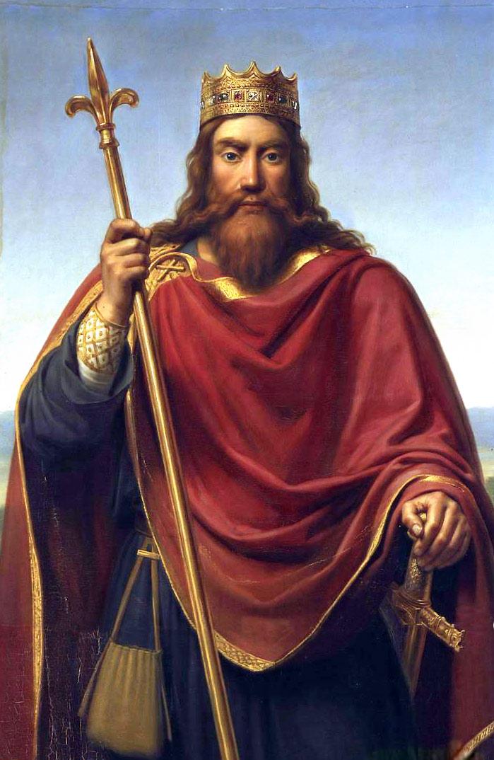Король Франции Хлодвиг Первый