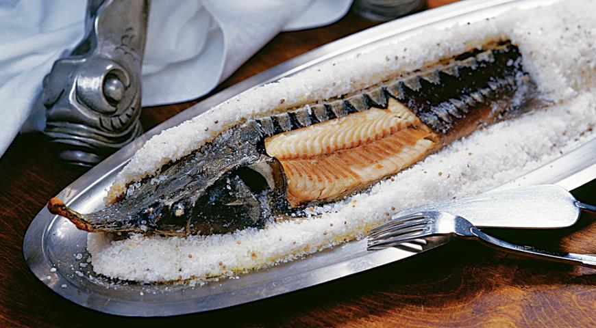 Рыба к вину