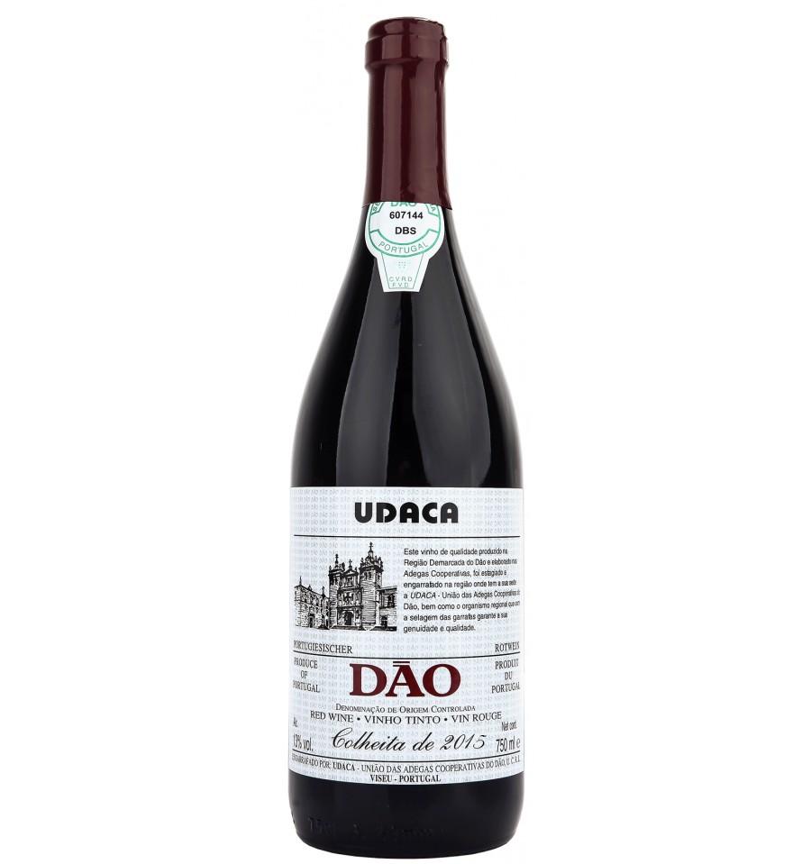 Красное сухое вино региона Дау