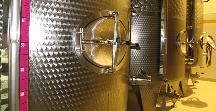 Стальные чаны для ферментации Просекко