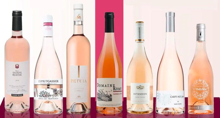 Розовые вина Прованса