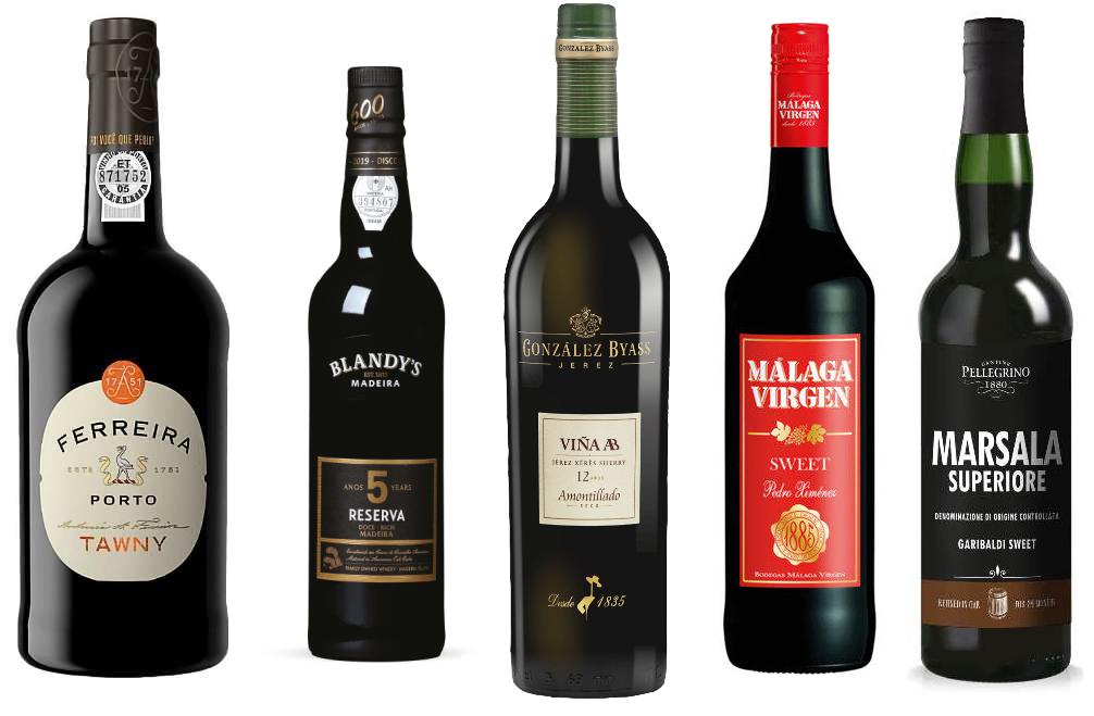 Известные крепленые вина