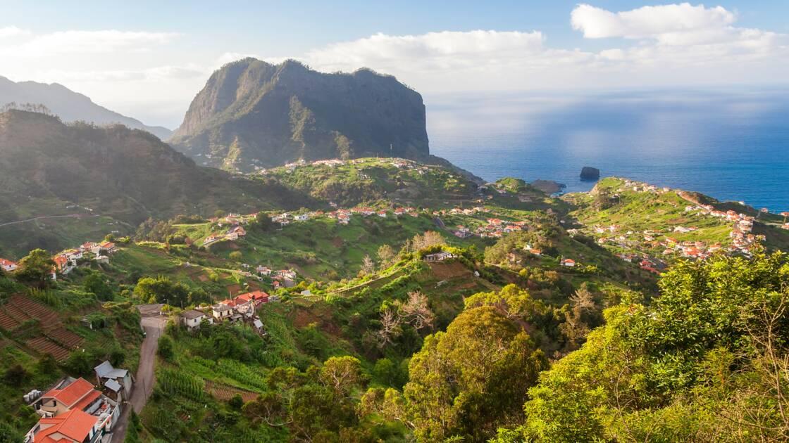 Пейзаж острова Медера