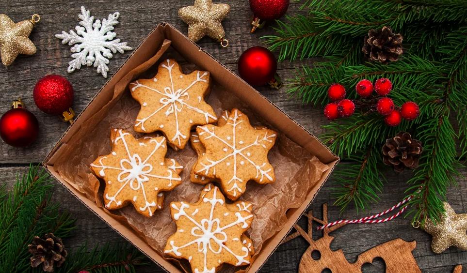 Многочисленные рождественские печенья бредель