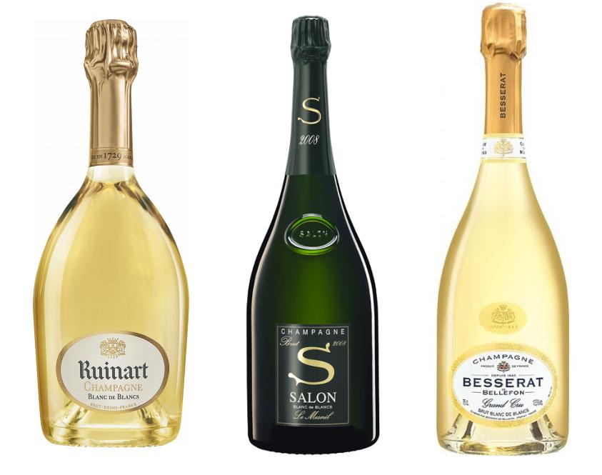 Шампанское из винограда Шардоне