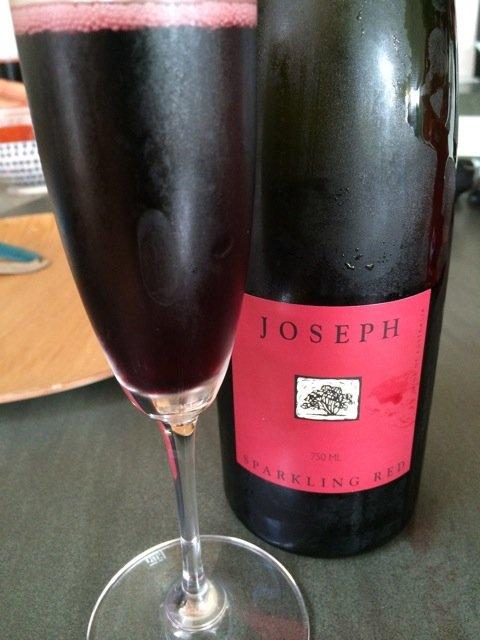 Игристое красное вино Sparkling Shiraz