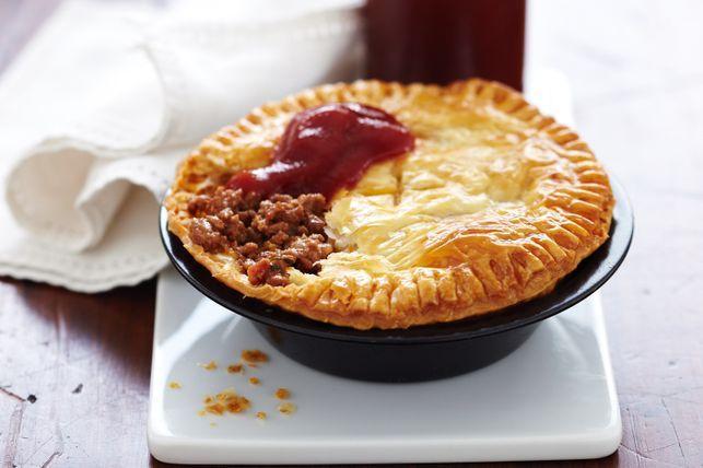 Австралийские пирожки с мясом