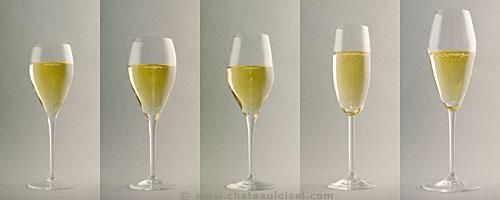 Бокалы длля игристых вин