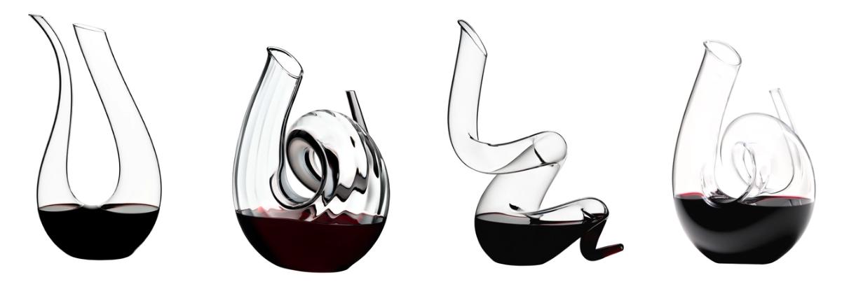 Декантеры для молодого вина от фирмы Riedel