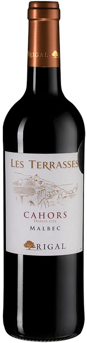 Rigal Les Terrasses Cahors Malbec
