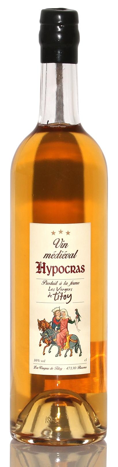 Гипокрас на основе белого вина