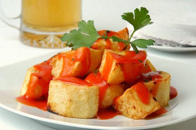 Запечённая картошка в специях