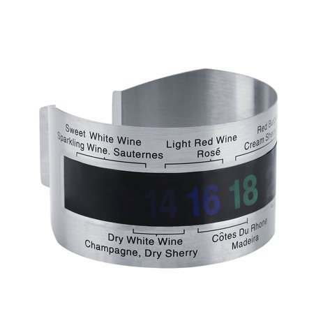 Браслет-термометр для контроля температуры вина