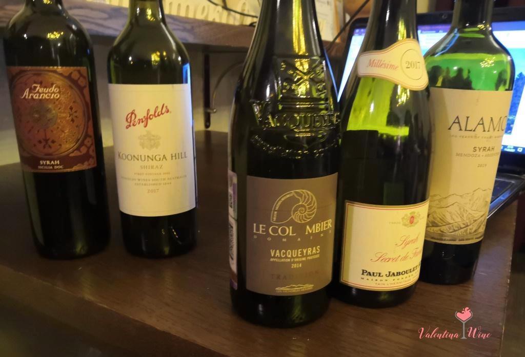 5 вин на дегустации
