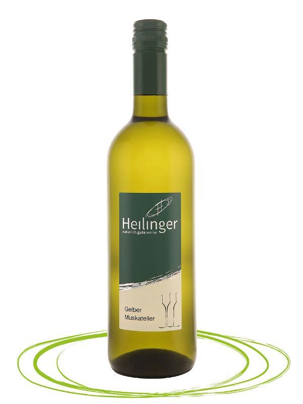 Австрийское вино из сорта Гелбер Мускателлер