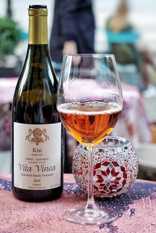 Грузинское янтарное вино