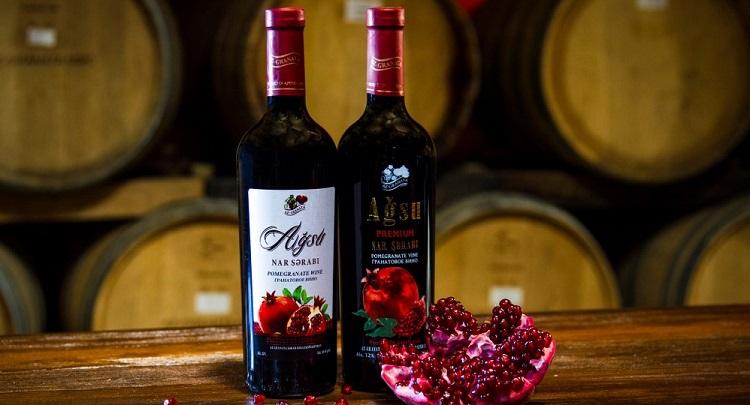Гранатовые вина Армении
