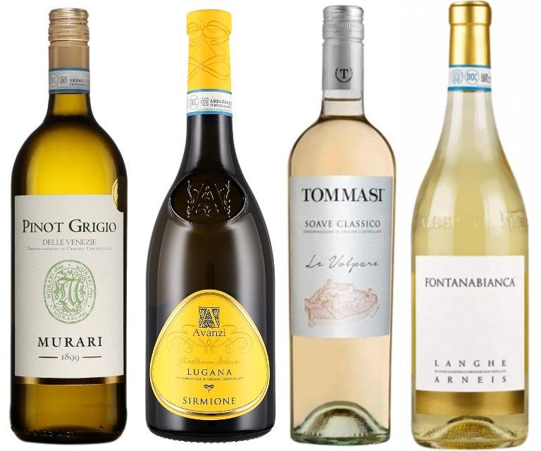 Итальянское белое вино для лета