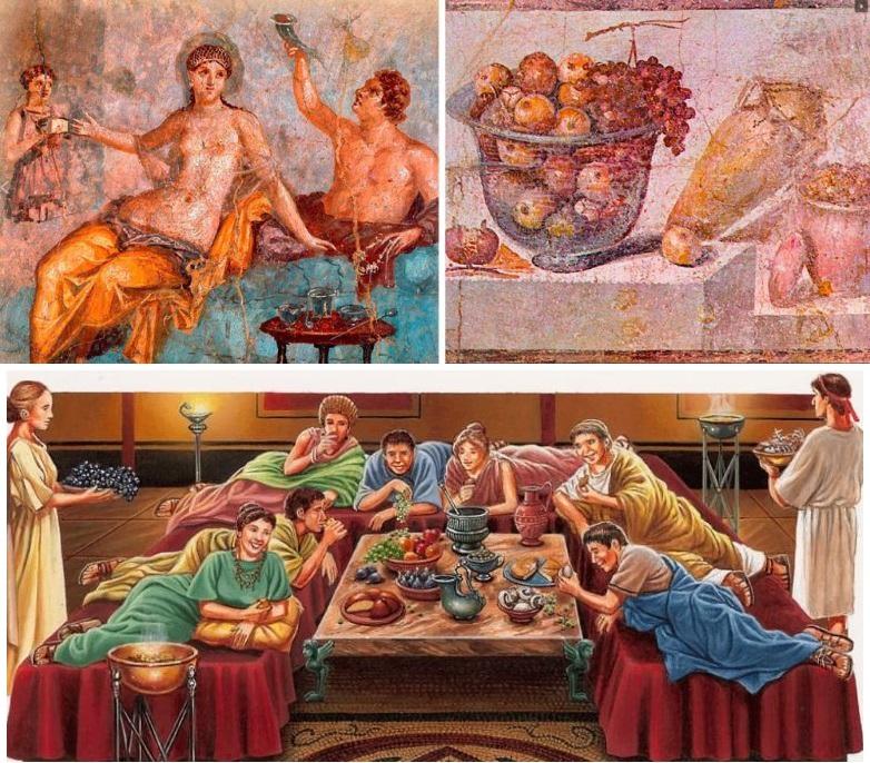 Аперитив в Древнем Риме