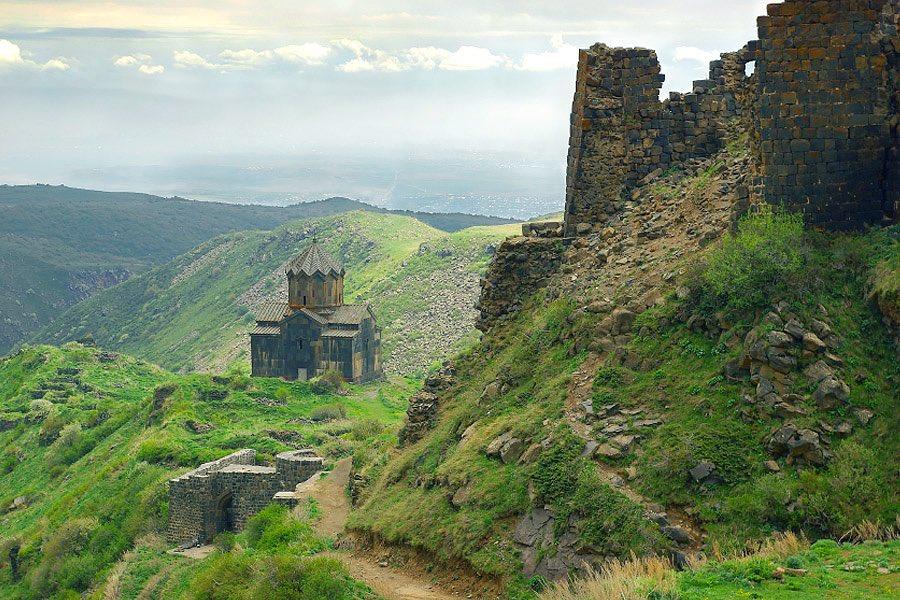 Крепость в регионе Арагацотн